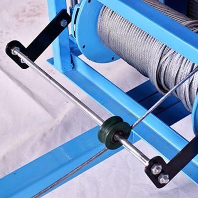 门窗专用吊机的钢丝绳应该如何保养?