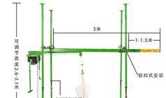室内四柱直滑式上料吊沙机型号及参数
