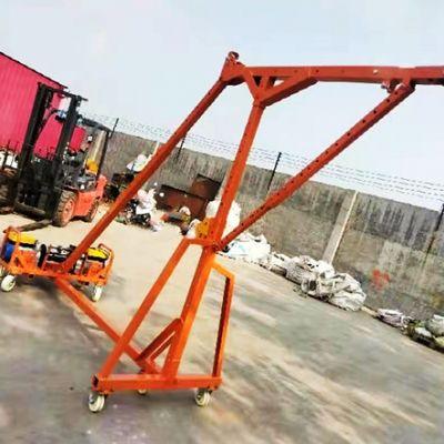 1000公斤重型移动直臂式门窗专用吊机