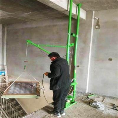 室内双柱家用小吊机适合几层楼房使用
