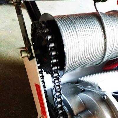 移动轻松吊/单杆吊窗机钢丝绳及链条用前检查