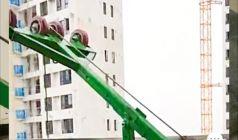 这18条注意事项让吊窗机高层吊玻璃更安全