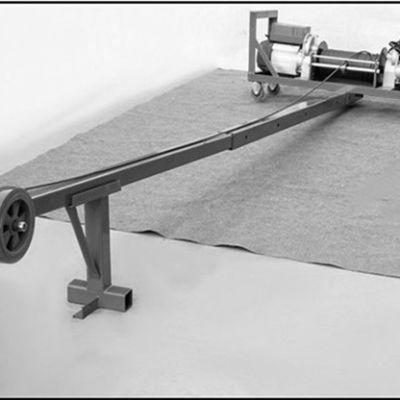单杆门窗吊机高层使用稳定性如何