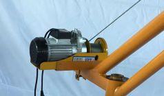 室外小吊机上微型电动葫芦限位器如何安装