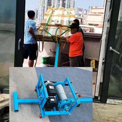 离合器吊窗机能够快速下放钢丝绳