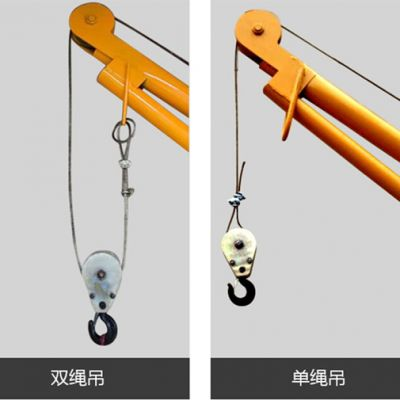室内小吊机中的单吊与双吊意义