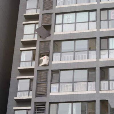 高层空调安装门窗吊机省力