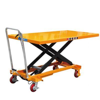 脚踏式升降平台车泄压阀有什么作用