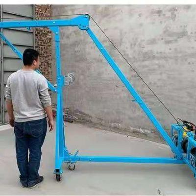高层楼房吊运玻璃使用哪款玻璃吊机