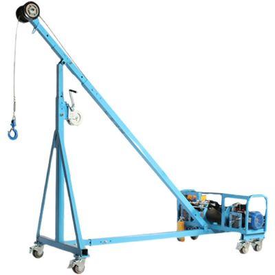 直臂吊玻璃吊机与斜臂式区别
