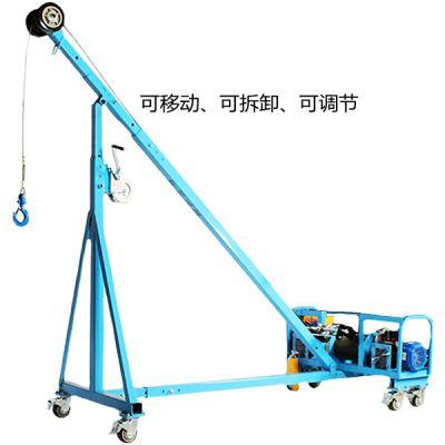 220米756公斤吊窗机实验成功视频