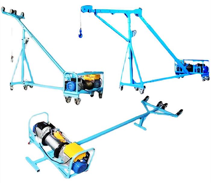 3款吊玻璃吊机展示