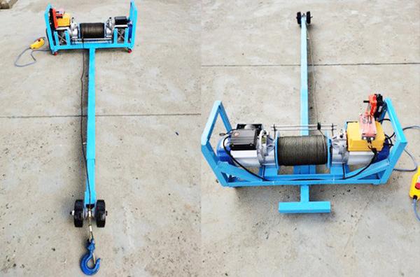 500公斤型双电机单杆门窗吊机