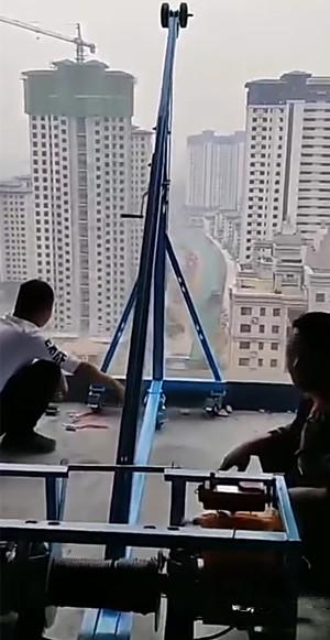 移动式门窗玻璃吊机