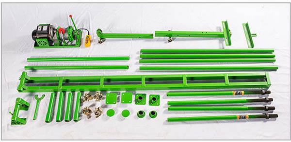 直滑式吊运机零配件