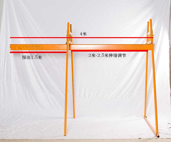 河北定制工字钢室外吊运机案例
