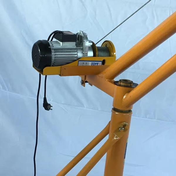 室外小吊机搭配微型电动葫芦