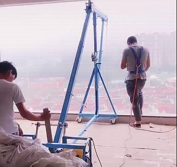 吊玻璃上楼专用吊机